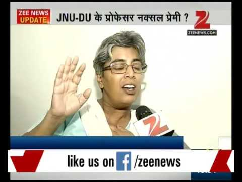 JNU and DU professors in support of Naxals