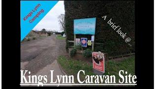 kings lynn camp site jan 19'