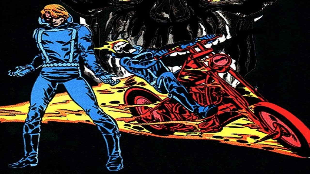 Ghost Rider Profile - Part 5 of 10 - Johnny Blaze | COMIC BOOK UNIVERSITY