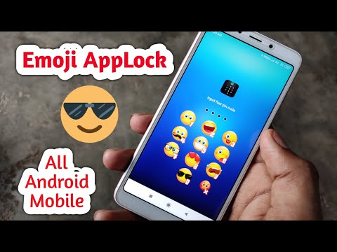 Emoji Apps Lock For All Android User 😊😊😊| App Lock On Any Android 2019|Emoji Applock | In Hindi
