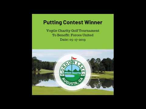 Putting Contest Winner   Vogtle Charity Golf Tournament
