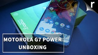 Moto G7 Power Unboxing & Tour