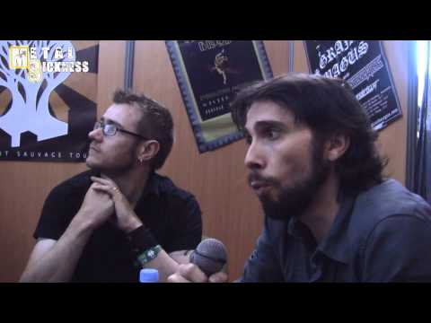 The Old Dead Tree interview @ Hellfest 22.06.2013)