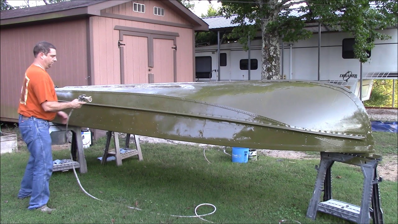 How To Remove Paint On Aluminum Boat