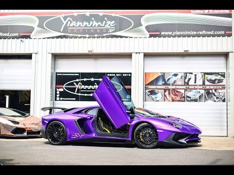 Lamborghini Aventador SV AMAZING wrap!