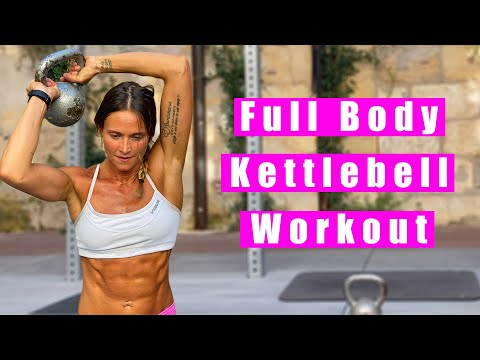 Full-Body Kettlebell Workout | Cynthia Balout