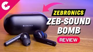 Zebronics Zeb-Sound Bomb True Wireless Earphones Review - 1800 Only