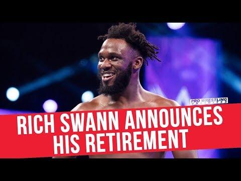 Former WWE Cruiserweight Champion Rich Swann Announces His Retirement