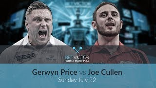 Gerwyn Price vs Joe Cullen | BetVictor World Matchplay Preview Show | Darts 🎯