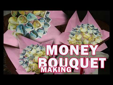 Dy Money Bouquet Making Ii How To Make Money Bouquet Youtube