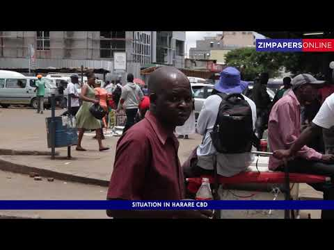 Situation in Harare CBD