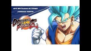 ¡QUÉ PASADA! ¡VEGETO 50 % COMBO LEVEL 1 Y 75 % CON ASSIST! - Dragon Ball Fighter Z