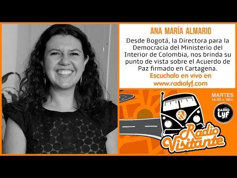 Ana María Almario en RADIO VISITANTE [27/09/16]