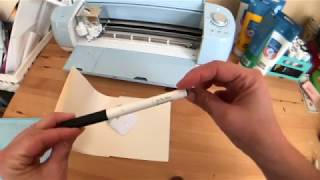 Learn How to Use Your Pen Feature & Writing fonts! | Write with Your Cricut for Beginners!