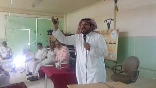 جزء من محاضرة هامة للأستاذ عبدالله المحيميد عن اختبارات القياس مع طلاب ثانوية الرواد بريدة