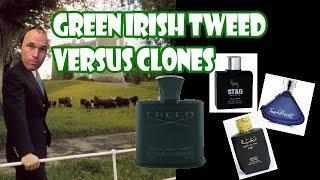 Creed Green Irish Tweed Versus Its Clones