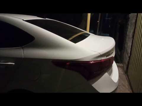 Хёндай Солярис 2019 установка и подключение заднего парктроника