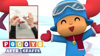Pocoyo Arts & Crafts: Collage Invernal | Manualidades Con Pocoyó