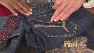 Terri O crafts: Bling out your favorite jeans