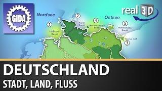GIDA - Deutschland - Stadt, Land, Fluss - Geographie - real3D Software - DVD (Trailer)