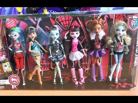 видео куклы монстер хай с берсиком