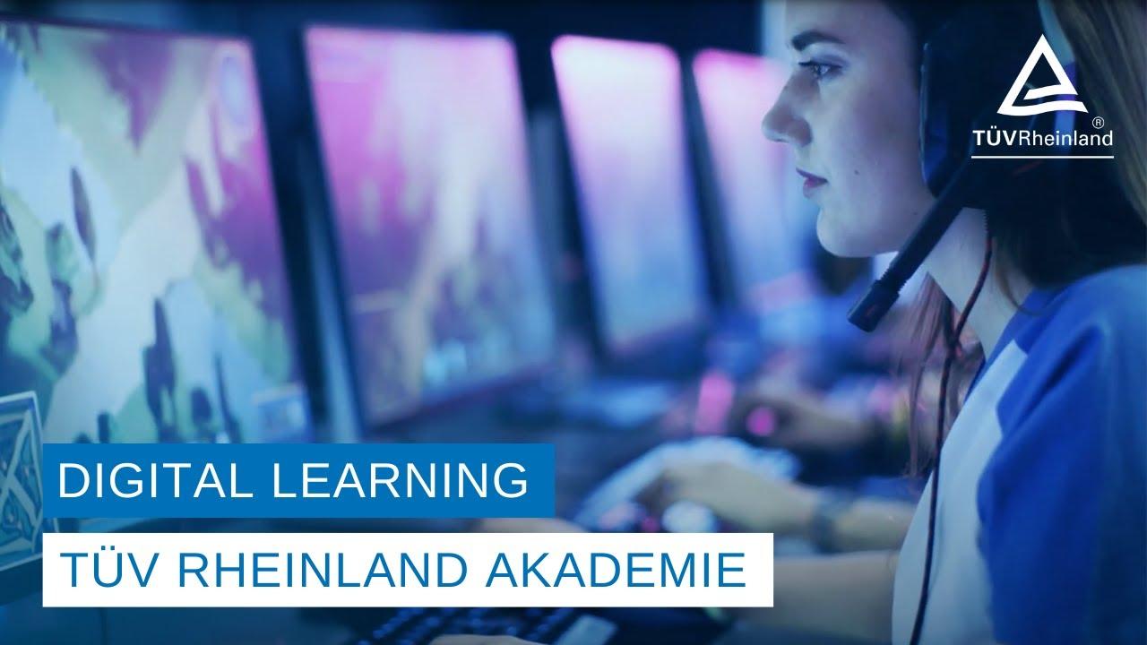 Digital Learning of TÜV Rheinland Academy