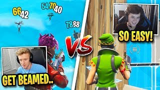 Tfue vs Bugha Fortnite Skills Side by Side... (Who's Better?)