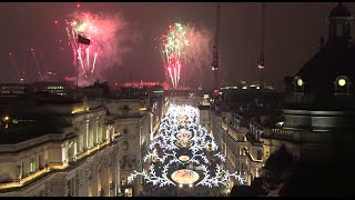 Regent Street Christmas Lights Switch On 2014