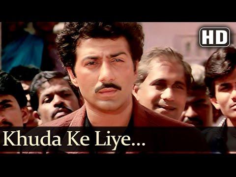 Khuda Ke Liye (HD) - Inteqam 1988  - Sunny Deol - Meenakshi Sheshadri - Kimi Katkar - Filmmigaane