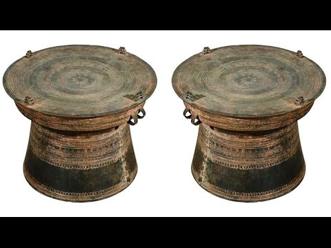 Dong Son Drum .. Frog Drum .. Rain Drum .. Bronze Drum