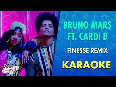 Bruno Mars Feat. Cardi B - Finesse (Karaoke) I CantoYo