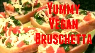 Great Vegan Recipes(11): The Vegan Bruschetta And The Vegan Cookie Dough Truffles