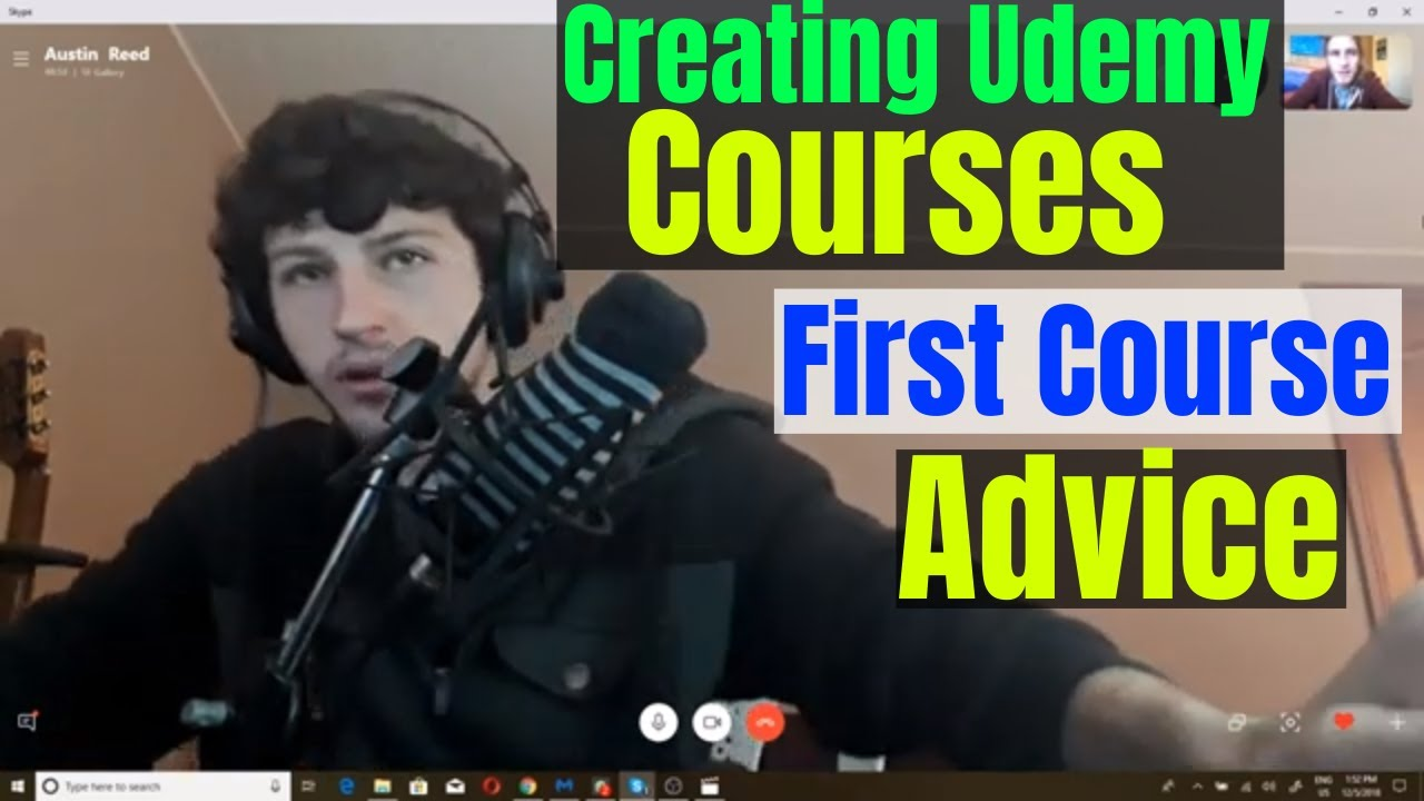 Creating Courses On Udemy Advice For Your First Course With Austin