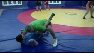 Вольная борьба-приемы. freestyle wrestling training