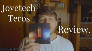 Joyetech TEROS Review -One Of The Best New Nic-Salt Devices-