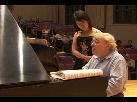 Richard Goode Master Class at Bard College Conservatory