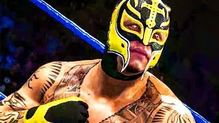 WWE 2K19: Ronda Rousey, Rey Mysterio and Ric Flair DLC Trailer (2018) PS4 / Xbox One / PC