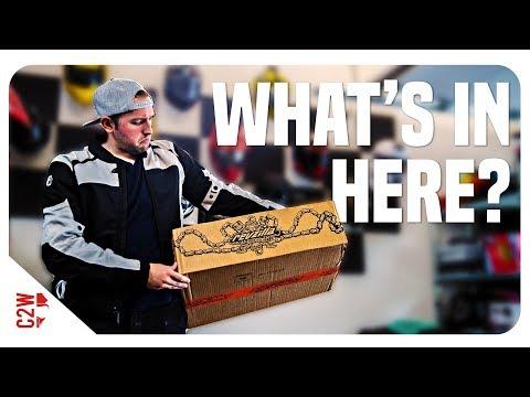 Revzilla surprise package SHOWED UP | Reax Gear