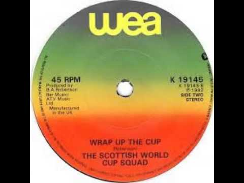 Scotland World Cup Squad - Wrap Up The Cup