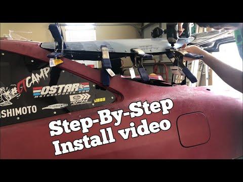 Lexan Hatch Install || Curving flat lexan ! Y&S Lexan