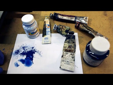 Краски для шабрения