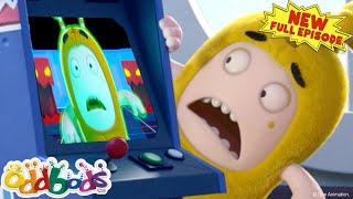 ODDBODS | Slick Trapped In An Arcade Game | NEW Full EPISODE COMPILATION | Cartoons For Kids
