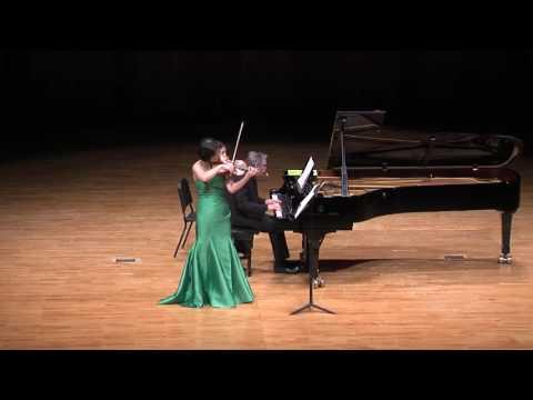 Ju-young Baek & Ralf Gothoni Duo Concert - Mozart Violin Sonata No.32 (mov.1)