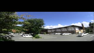 花咲の湯駐車場