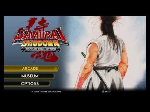 SAMURAI SHODOWN COLLECTION (PS4)  - Primeira vez e impressões