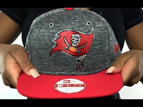 fc30bf32229 Buccaneers  2016 NFL DRAFT SNAPBACK  Hat by New Era - YouTube