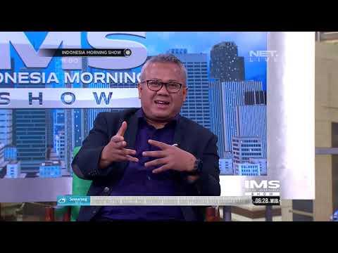 Talkshow Ketua KPU RI Membahas Persiapan Penetapan Capres Dan Cawapres Pilpres 2019 - IMS