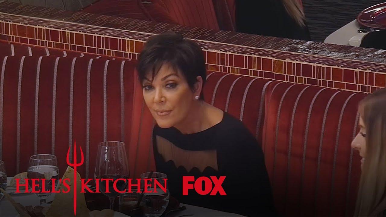 Kris jenner 39 s surprise arrival season 15 ep 4 hell 39 s for Hell s kitchen season 15 episode 1