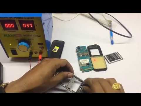 Mobile Testing Component -Use DC Power Supply [ Ringer-vibrator-battery-Mobile Power on -] tutorial