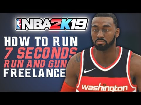 NBA 2K19 Tutorial - 7 SECONDS FREELANCE (Push The Pace!) | 2K Film Room